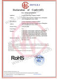 IP20 non impermeabilizzano l'indicatore luminoso dell'indicatore luminoso di striscia di SMD3528 LED 24V con CE&RoHS