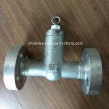 2500lb a modifié le clapet anti-retour de piston de bride de joint d'étanchéité d'acier inoxydable