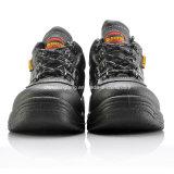 Dedo del pie de acero de calidad superior L-7252 de los zapatos de seguridad de la venta caliente de China