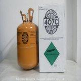 Gás Refrigerant misturado de R407c com 99.9%Purity e melhor qualidade
