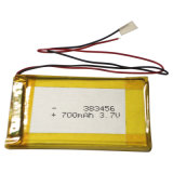 bateria de íon de lítio 3.7V recarregável para o banco da potência (3000mAh)