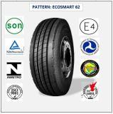 315/80r22.5 (ECOSMART 62) mit Qualitäts-LKW der Europa-Bescheinigungs-(ECE-REICHWEITE-KENNSATZ) u. Bus-Radialgummireifen