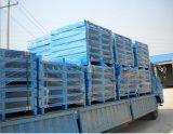 Bandeja de acero del metal de la paleta de la entrada de cuatro terminales para el almacenaje del almacén