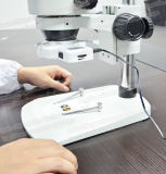 Microscopio binocular de la estereofonia del zoom de la alta calidad FM-45b6