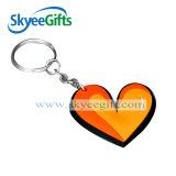 Jogo macio Shaped macio feito sob encomenda da chave do PVC Keychain do PVC Keychains 2D