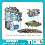 machine de granule d'alimentation de l'Aqua 1.5-3.5t/H (poissons, crevette, prown)