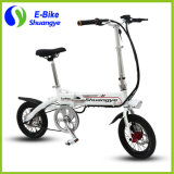 Best Sell 36V Bateria de lítio 14 polegadas pequena roda Mini Folding Electric Bike