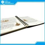 두꺼운 표지의 책 나선형 의무 책 인쇄