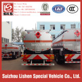 SaleのためのAuman 8*4 Fuel Tanker Truck Diesel Power 270HP Oil Tank Truck