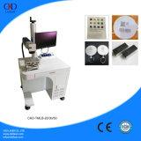 Máquina de gravura do laser da fibra da tabela do fabricante para a venda