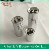 알루미늄 Case Round Type Cbb65 Air Condition 5UF 250V Capacitor