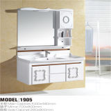 PVC non Xerox Bathroom Cabinet di Price Wall Mounted con Side Cabinet