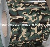 Bobina de aço ondulada galvanizada Cor-Revestida