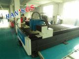 Maquinaria da estaca do laser da fibra do metal de folha do CNC de Han com melhor preço