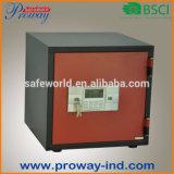 Vuurvaste Brandkast met het Hoge Slot van de Code van de Veiligheid Mechanische
