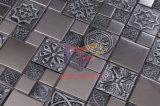 Estilo retro de la mezcla del metal de la resina del mosaico de acero inoxidable (CFM761)