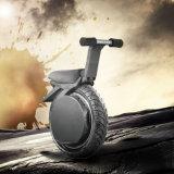 motocicleta elétrica da roda 60V um com 1000W