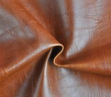 Stilvolle Retro Oil PU Leather Crazy Horse Synthetic Leather für Bags Sofa Furniture (HS-BR1)