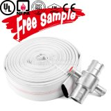 Boyau résistant au feu flexible à haute pression de débit de PVC de tissu de 6 pouces