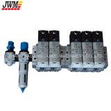 El plástico de PE/PP/HDPE/LDPE embotella la máquina del moldeo por insuflación de aire comprimido de inyección