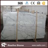 Nuevo Popular pulido mármol blanco para pared y suelo