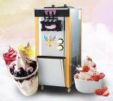 Machine molle de crème glacée glacée, crème glacée glacée faisant la machine