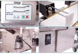 Alimento industrial do detetor de metais que deteta a máquina