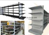 Estante del supermercado de la góndola del metal, estante de la góndola, estante del supermercado del metal