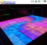 Infinito LED de interior Dance Floor del espejo de la ilusión de la decoración 3D de la boda