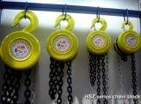 Grue à chaînes durable employée couramment manuelle de Hsz