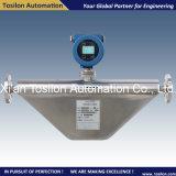 Medidor de flujo másico de Coriolis líquido digital para la Marina aceite combustible pesado