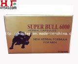 Comprimidos longos super da ereção de Bull 6000 do realce masculino forte do sexo duramente