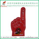 La espuma de EVA de la victoria da los dedos para animar de los deportes