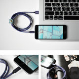 Cable de carga rápido universal creativo del USB para Andriod/iPhone