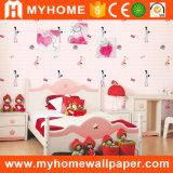 甘い部屋の装飾は部屋のペーパー壁紙をからかう
