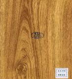 Papel de madera del grano para el piso, muebles, puerta, MDF, HPL