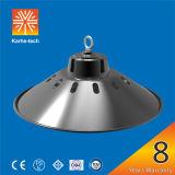 garantía 80W-150W 8 años del LED de la bahía inferior de luz industrial de Hihbay