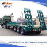 Jiangsu-Lieferanten-neuer Werft-Transportvorrichtung Lowbed LKW-Schlussteil