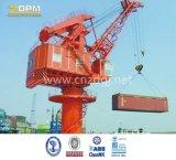 Guindaste hidráulico fixo marinho/porta/doca/navio para o fornecedor de China da venda