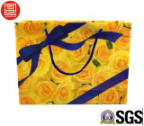 Sac de papier d'imprimerie/sac de transporteur, sac à provisions du papier de mode/Plastic/PVC avec le logo estampé, sac de transporteur de cadeau