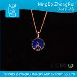 Gift 925 Echte Zilveren Reeks 2 van Kerstmis van Kerstmis van de Tegenhanger van de Juwelen van Lapis lazuli