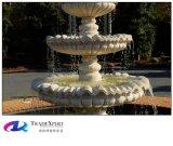 Fontein van het Water van de Douane van de Decoratie van de tuin de Marmeren, Gesneden Hand