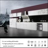 白く高い光沢のある紫外線食器棚(FY587)