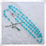 Fornitore trasparente religioso del rosario dei branelli di preghiera dei branelli del commercio all'ingrosso 2015 (IO-cr269)