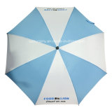 Whole Fiberglass Frame를 가진 똑바른 Auto Open Advertizing Umbrella