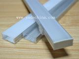 Profil en aluminium de DEL pour la barre d'éclairage LED avec l'extrusion d'aluminium d'OEM de DEL