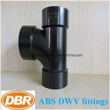 ABS Dwv размера 3 дюймов приспосабливая санитарный тройник