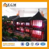 건축 모델 구성 모형 제작자 또는 전람 모형 또는 고대 아키텍쳐 모형
