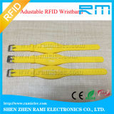 Wristband do silicone de 125kHz RFID para a criança para eventos