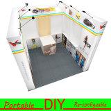 Cabine Van uitstekende kwaliteit van de Tentoonstelling van het Aluminium van de douane de Textiel Draagbare Modulaire Standaard